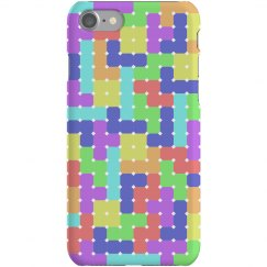 Tetromino Pattern Phone Case (1)