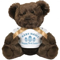 Happy 1st Easter Baby Gift Bear