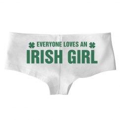 Everyone Loves An Irish Girl