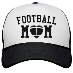 Simple Football Mom Hat