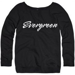 Evergreen Script Sweatshirt
