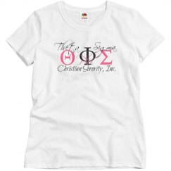 Theta Phi Sigma Christian Sorority, Inc.