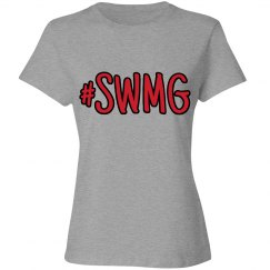SWMG hashtag t-shirt (ladies)