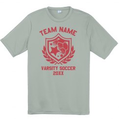 Custom Soccer Youth Team Performance Tee