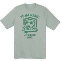 School Soccer Team Performance Tee