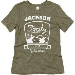 Custom Family Camping & Hiking Vacation Tees