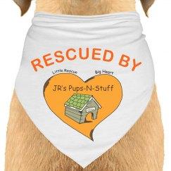 Rescued by JR's bandana