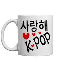 I Love Kpop Mug