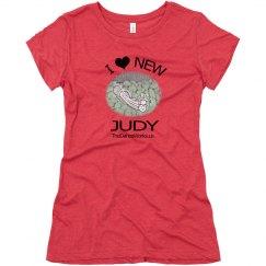 """I """"Heart"""" New Judy junior relaxed tee"""