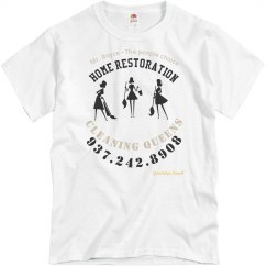 Boyce Cleaning Crew~Pink T