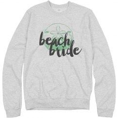 Beach Bride Ocean Pullover