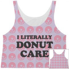I Donut Care Trendy Pattern