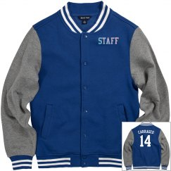 Staff Lettermen Jacket