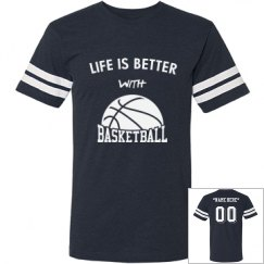 Better with basketball