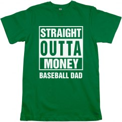 Straight Outta Baseball Dad