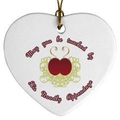 Be Touched ornament - heart