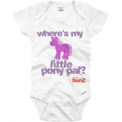 Where's pony pal onesie