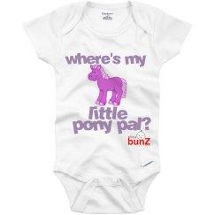 Where's pony pal onesie