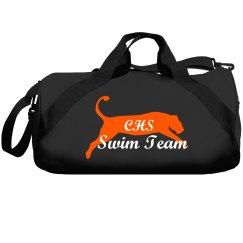 Swim Team Cat Mascot