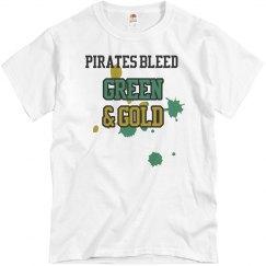 Bleed Green & Gold