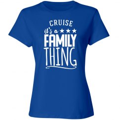a family cruise