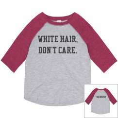 White Hair, Don't Care- Pink & Gray