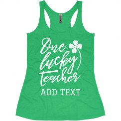 One Lucky Teacher St. Patrick's Day