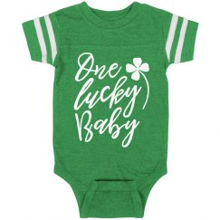 One Lucky Baby St. Patrick's Day
