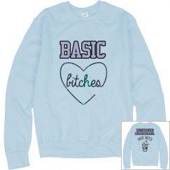 TheOutboundLiving Basically Basic Sweater Baby Blue