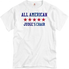 All American Judges Chair 2018