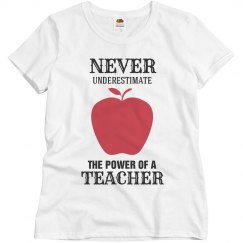 Power of a teacher
