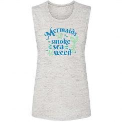 Ladies Mermaids Seaweed Tank