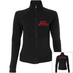 Track Jacket with Glitter