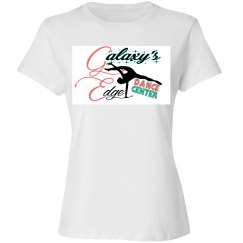 Adult White Fitted Tee