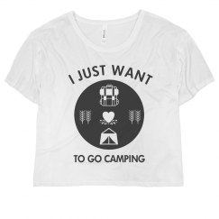 I Just Want To Go Camping Flowy