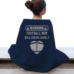 Football Mom Blanket