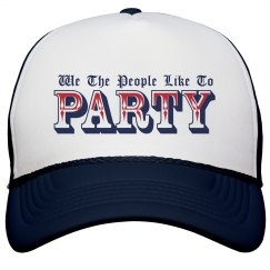 We the People Party Cap
