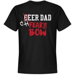 Beer - Cheer dad - fear the bow