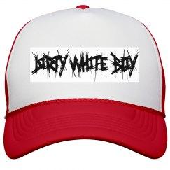 Dirty White Boy hat