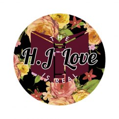 "(H.J) ""Real Love"" - Button/Pin."