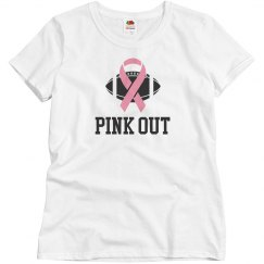 """Football """"Pink Out"""" Pink"""