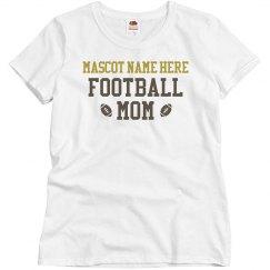 Custom Mascot Football Mom
