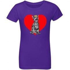 Kitty Heart Girl's
