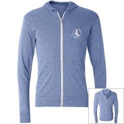 JL hoodie blue