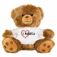 Love Bear (customize in cart)
