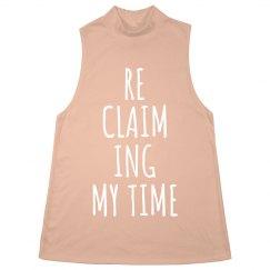 Reclaiming My Time Feminist Girl