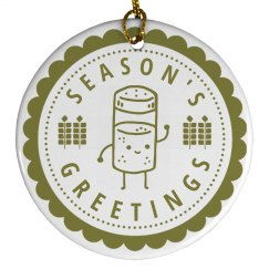 Tall Spice Seasons Greeting
