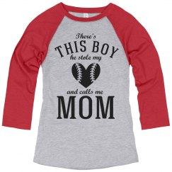 Baseball Mom Pride Jersey