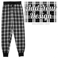 Personalized Flannel Pajama Bottoms