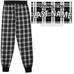 Custom Future Mrs Flannel Pajamas